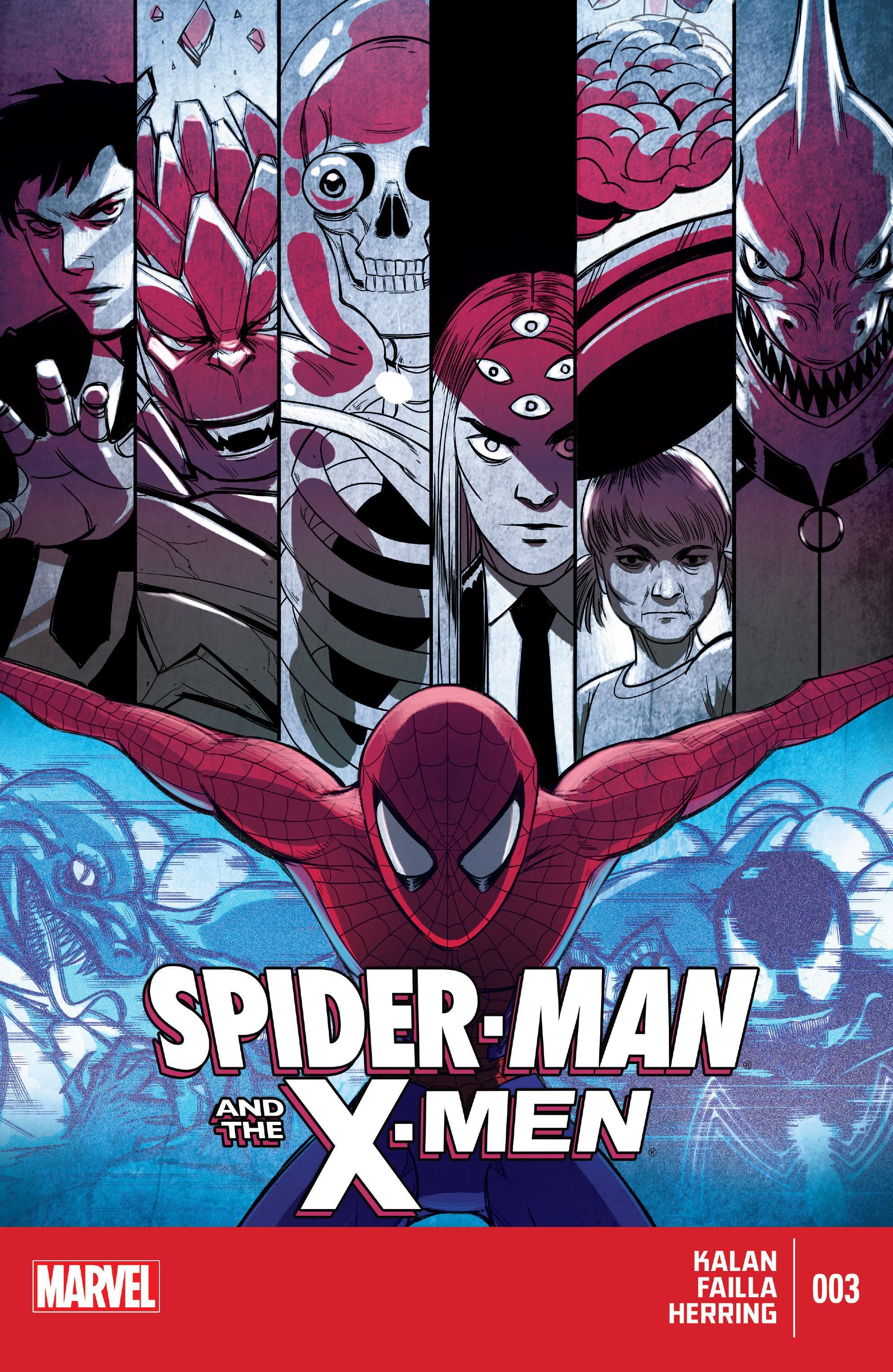Spider-Man & the X-Men 3 Page 1