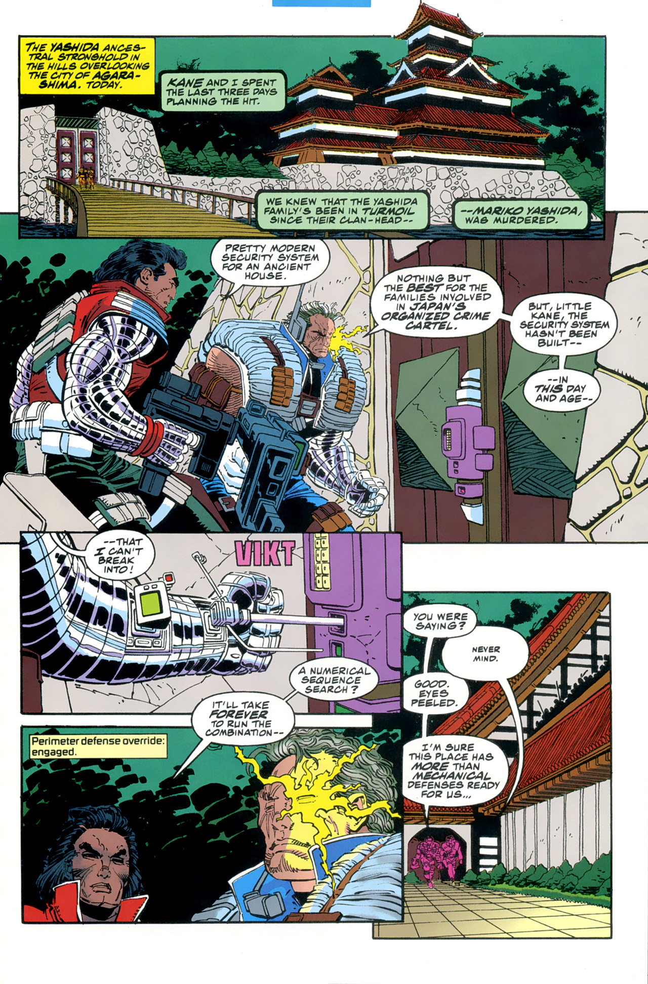 Read online Cable - Blood and Metal comic -  Issue #2 - 5