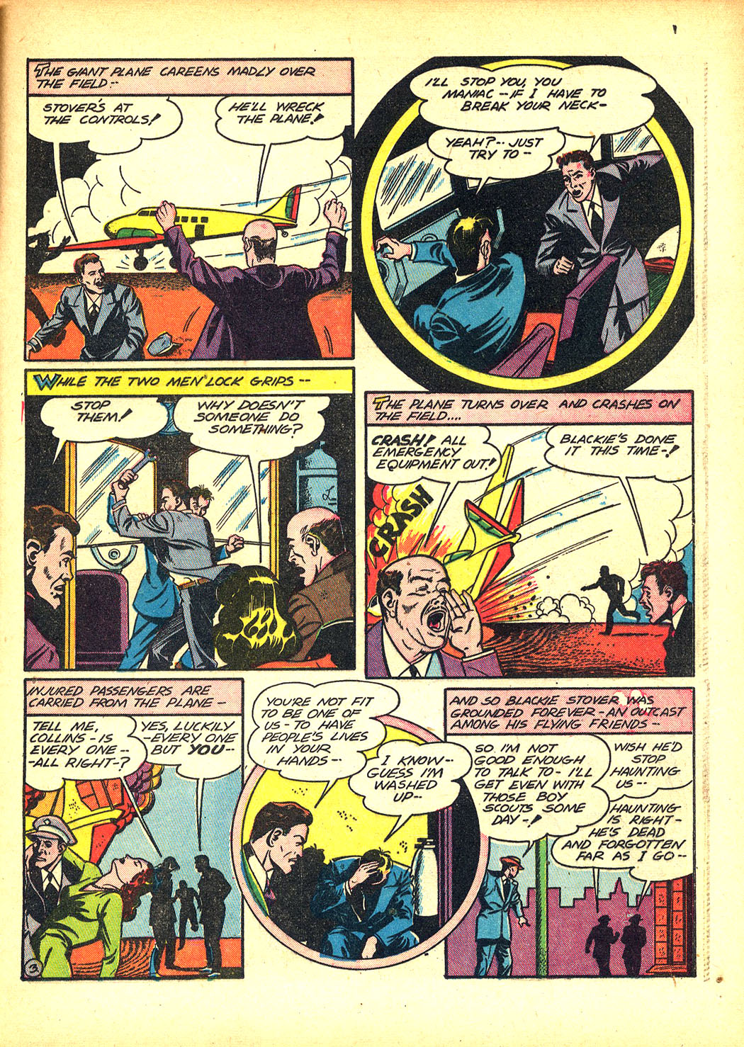 Read online Sensation (Mystery) Comics comic -  Issue #8 - 39
