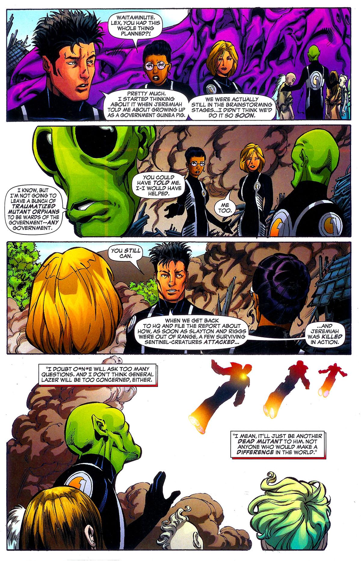 Read online Sentinel Squad O*N*E comic -  Issue #5 - 18