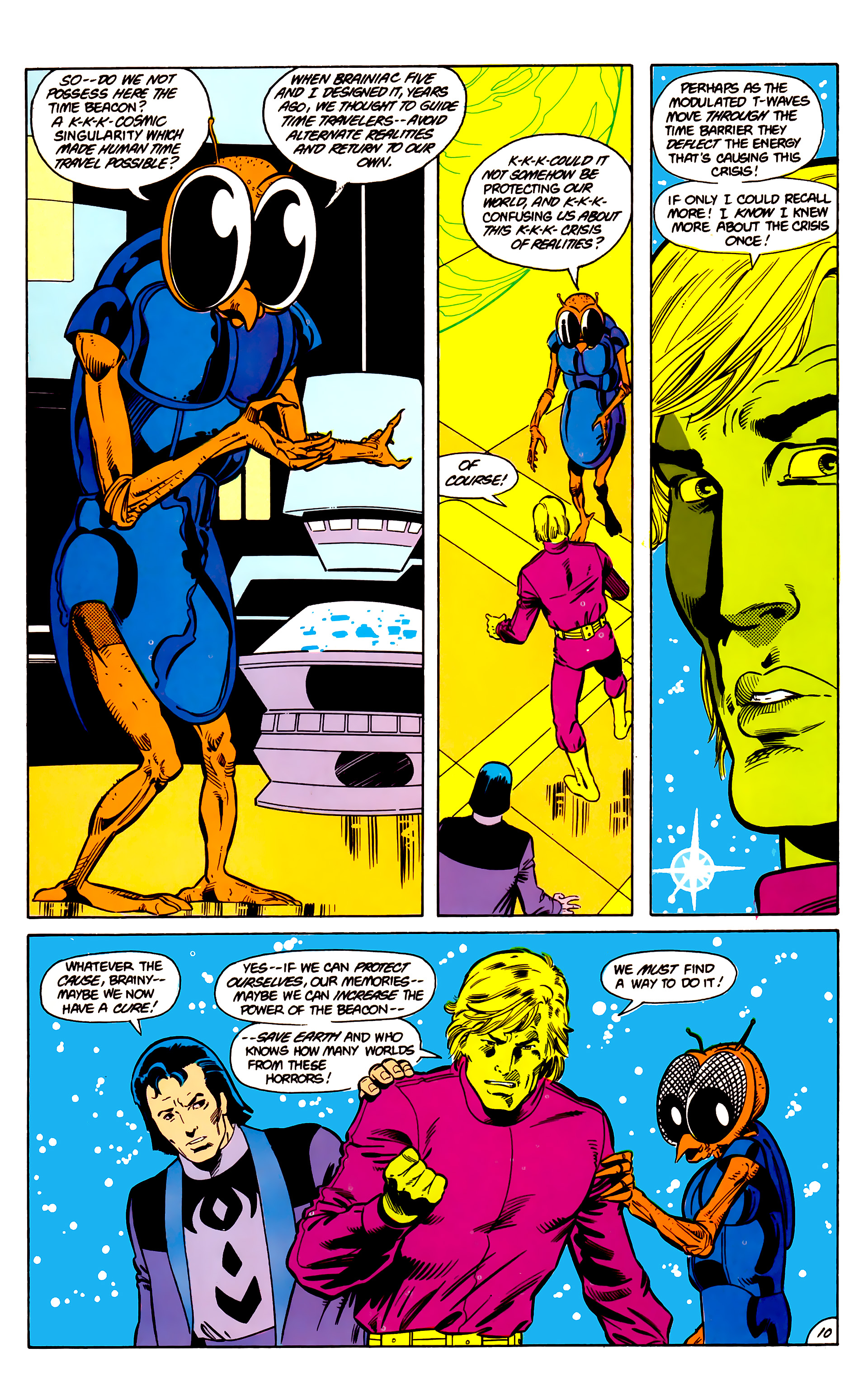 Legion of Super-Heroes (1984) 18 Page 10