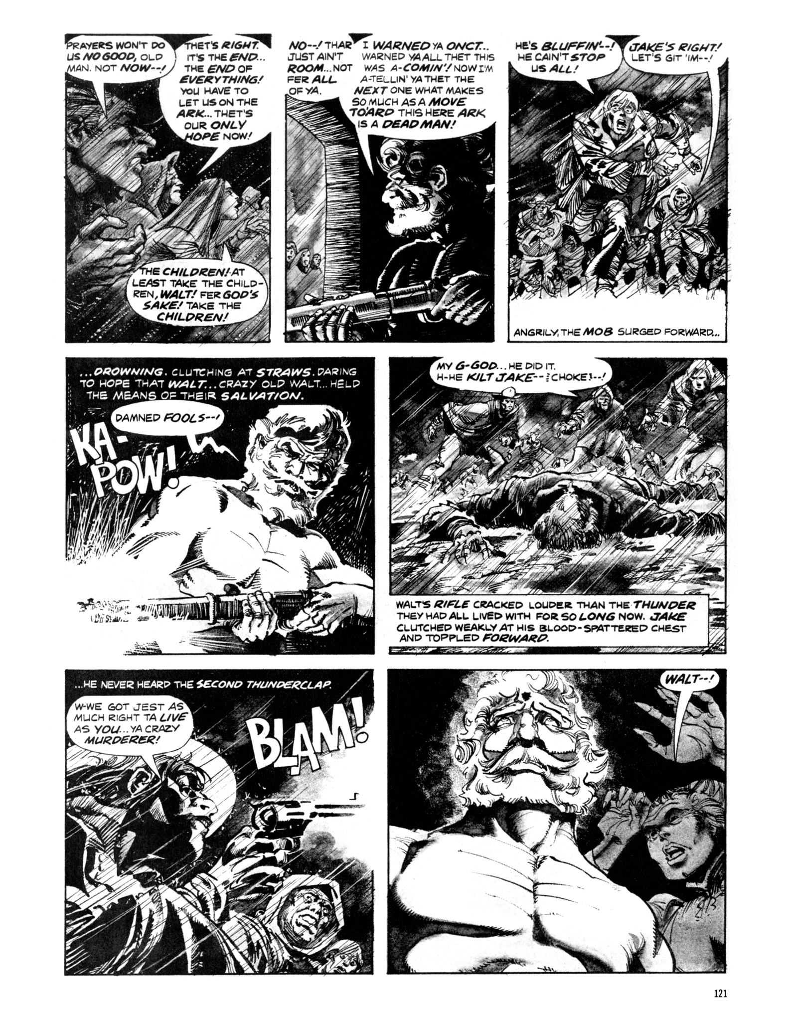 Read online Eerie Archives comic -  Issue # TPB 20 - 121