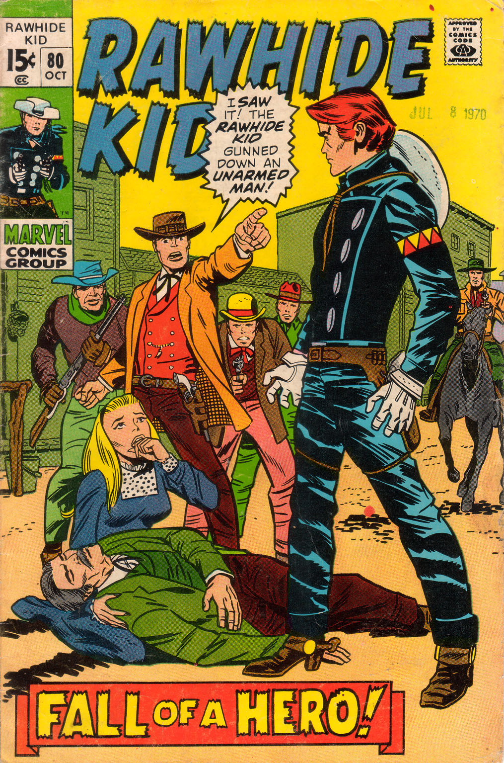 The Rawhide Kid (1955) issue 80 - Page 1