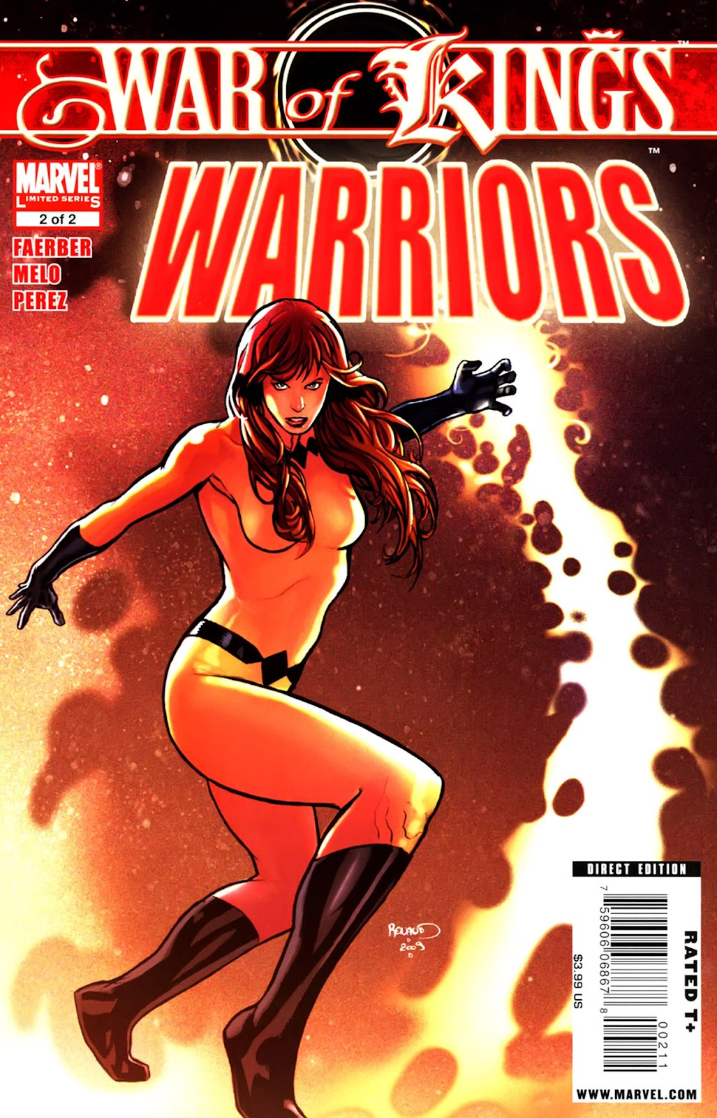 War of Kings: Warriors Issue #2 #2 - English 1