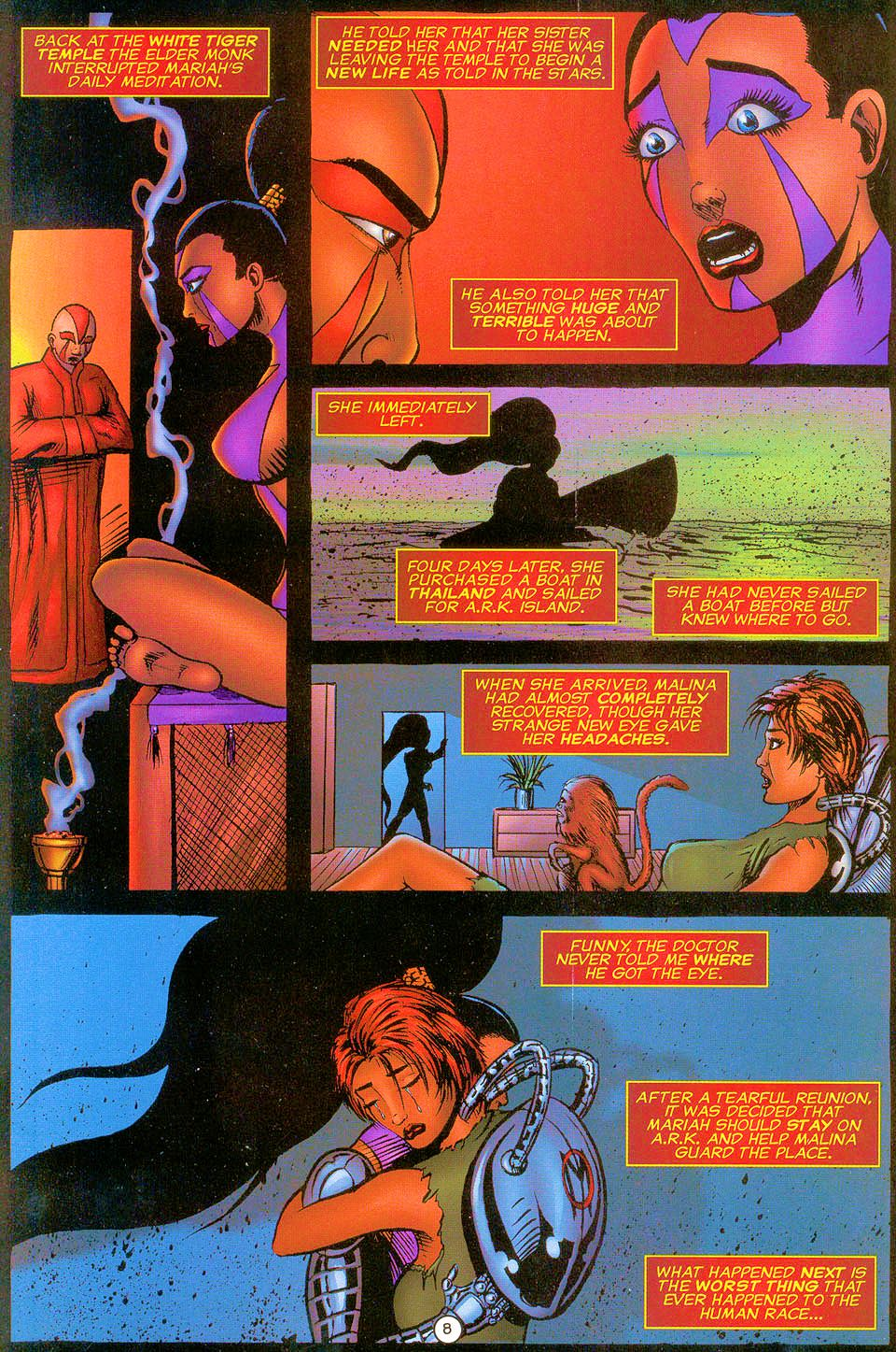 Read online Sisters of Mercy comic -  Issue #0 - 9