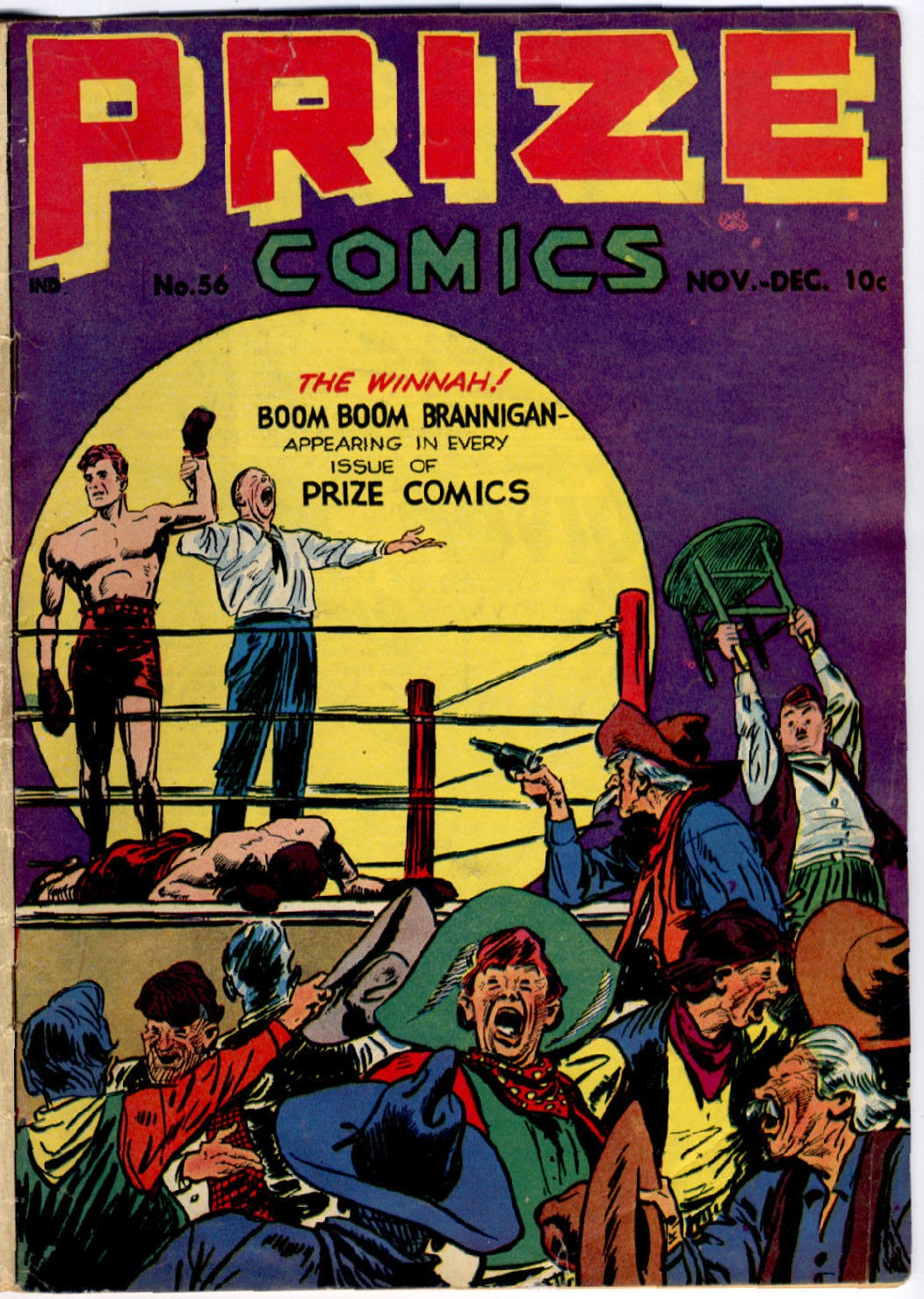 Prize Comics 56 Page 1