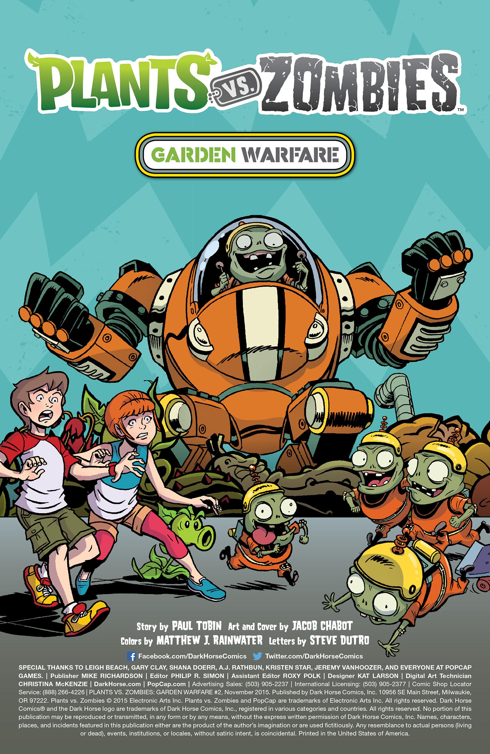 Plants vs  Zombies - Read free Comics online!: Plants vs