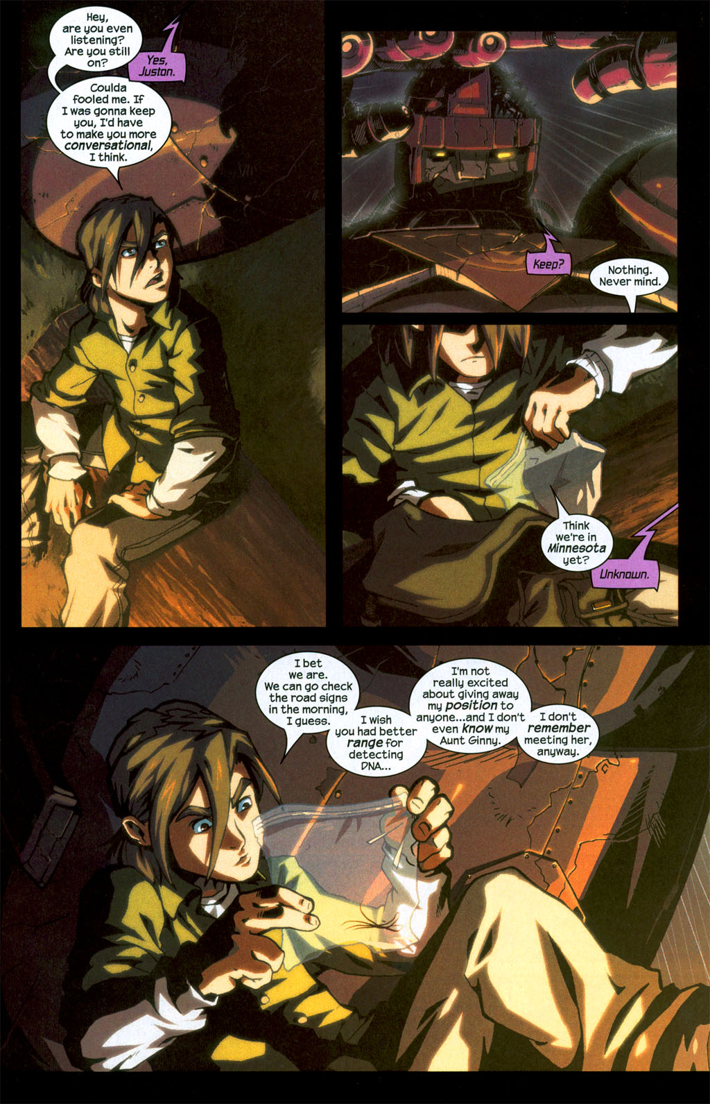 Read online Sentinel (2006) comic -  Issue #1 - 16