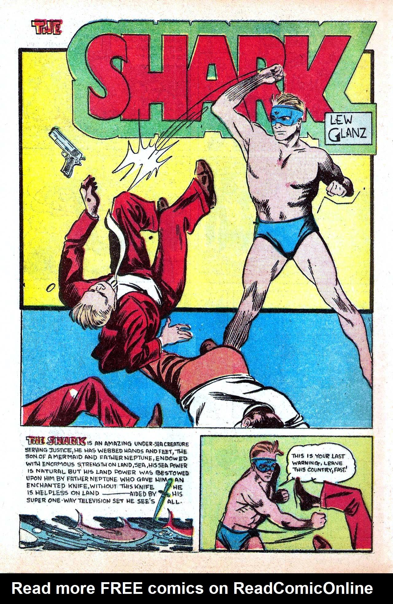 Read online Amazing Man Comics comic -  Issue #11 - 44