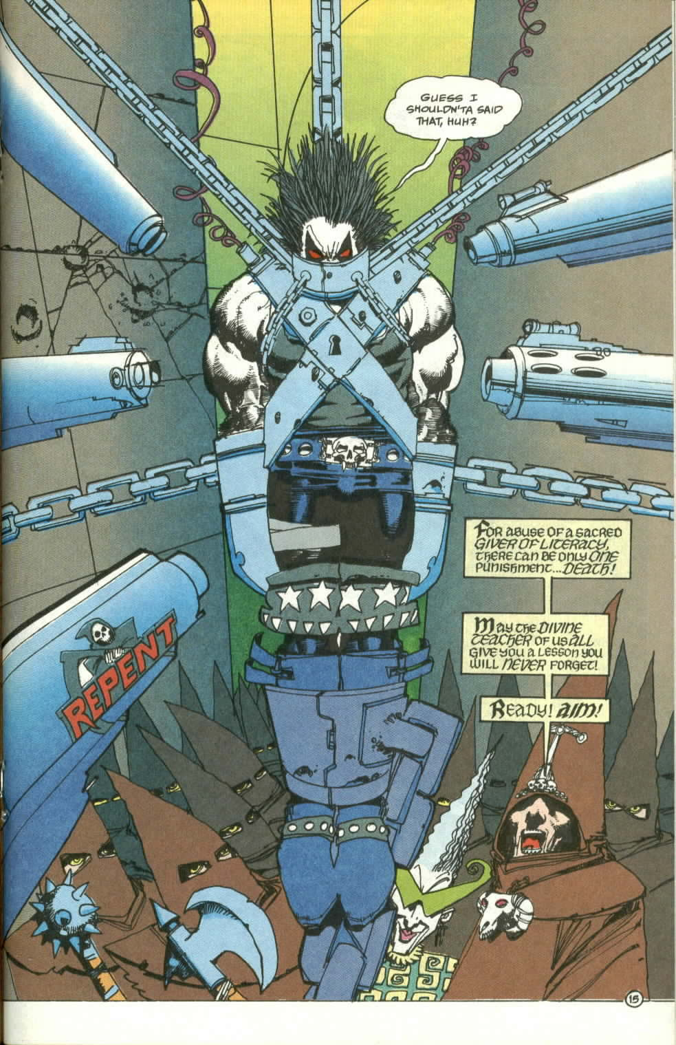 Read online Lobo (1990) comic -  Issue #3 - 16
