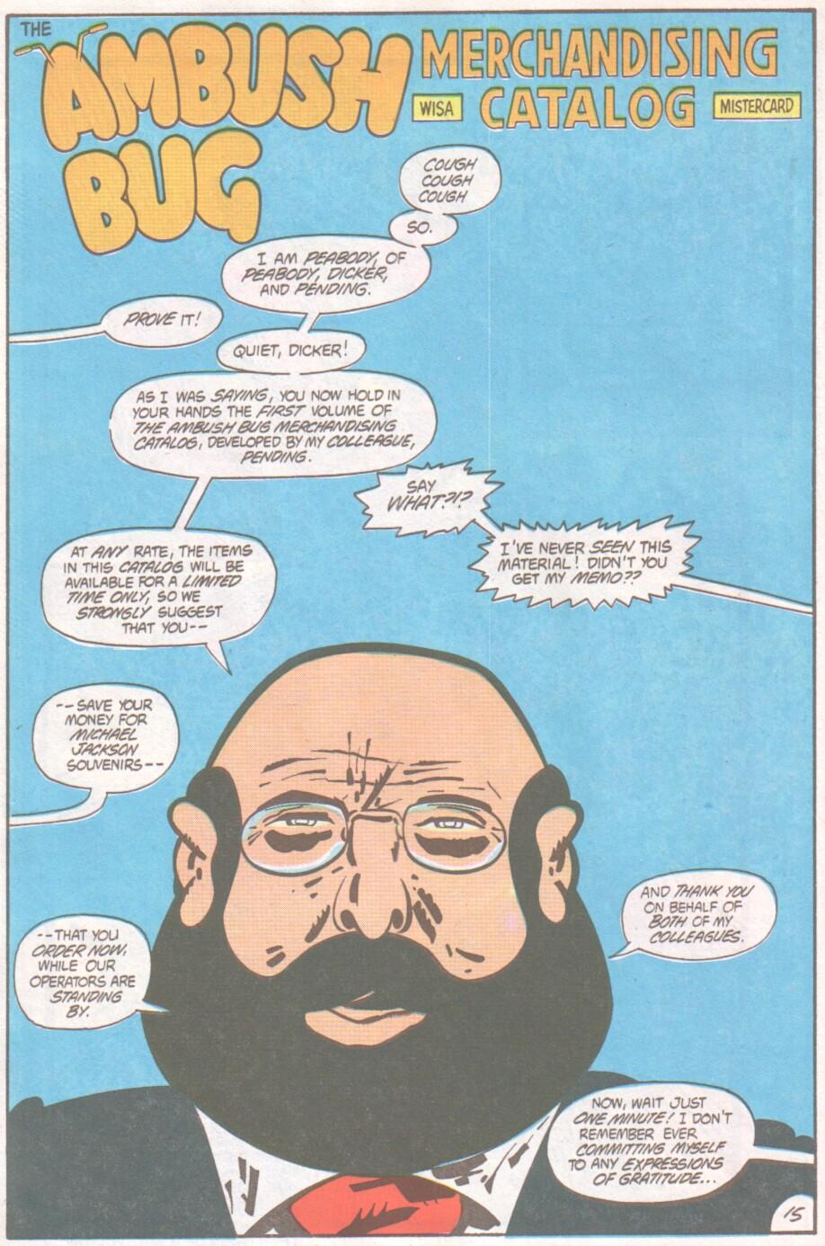 Read online Ambush Bug comic -  Issue #1 - 16
