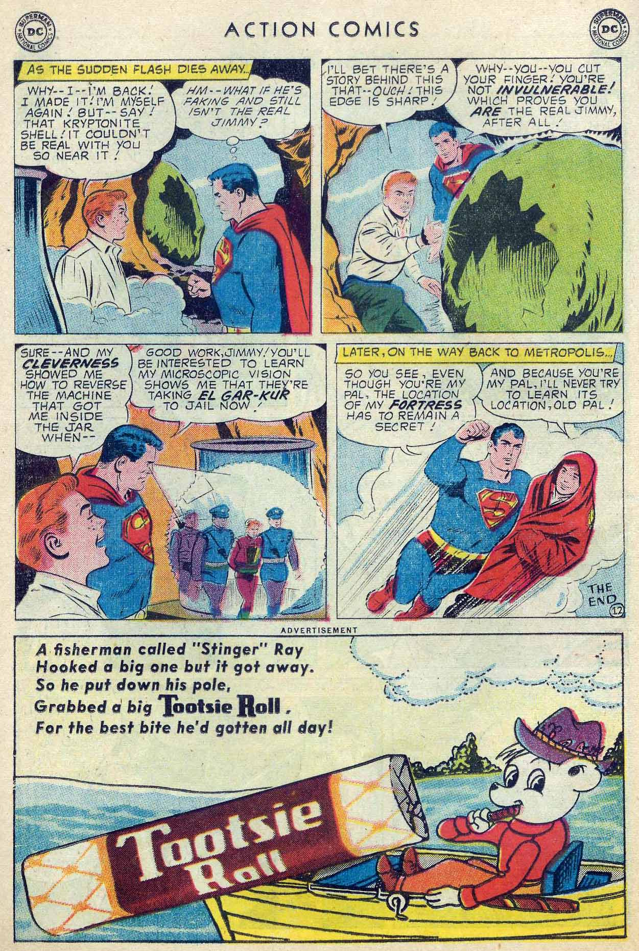 Read online Action Comics (1938) comic -  Issue #253 - 14
