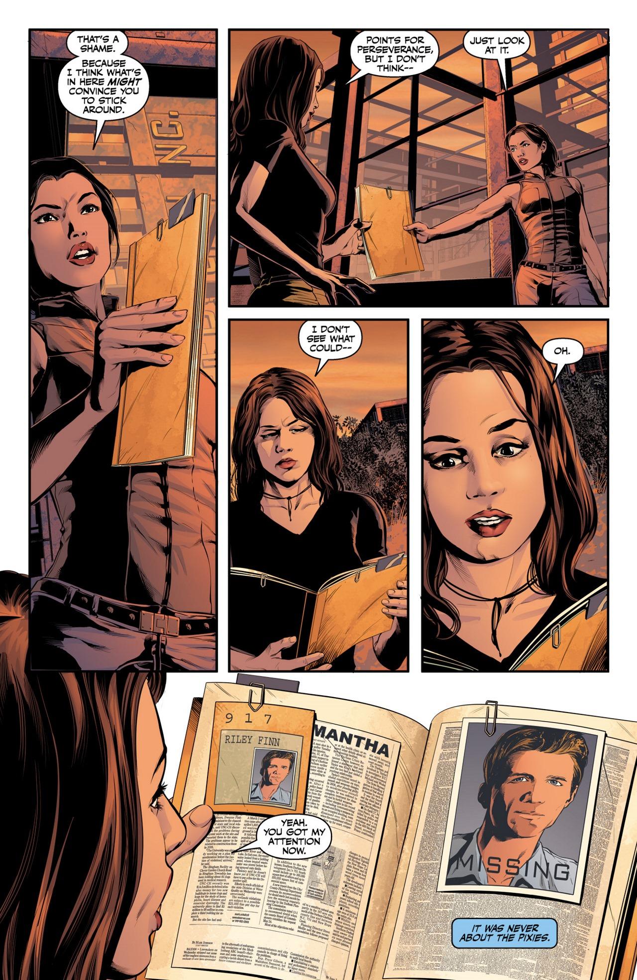 Read online Angel & Faith Season 10 comic -  Issue #4 - 20
