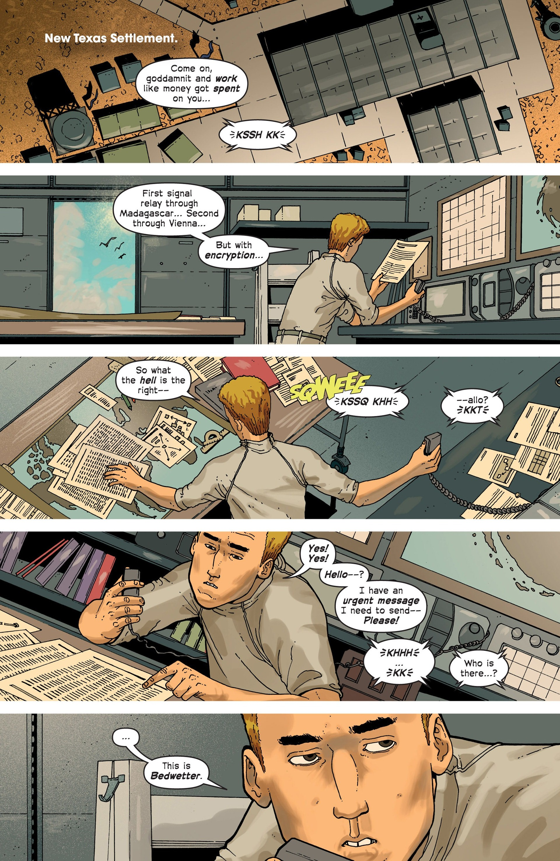 Read online Great Pacific comic -  Issue #3 - 9