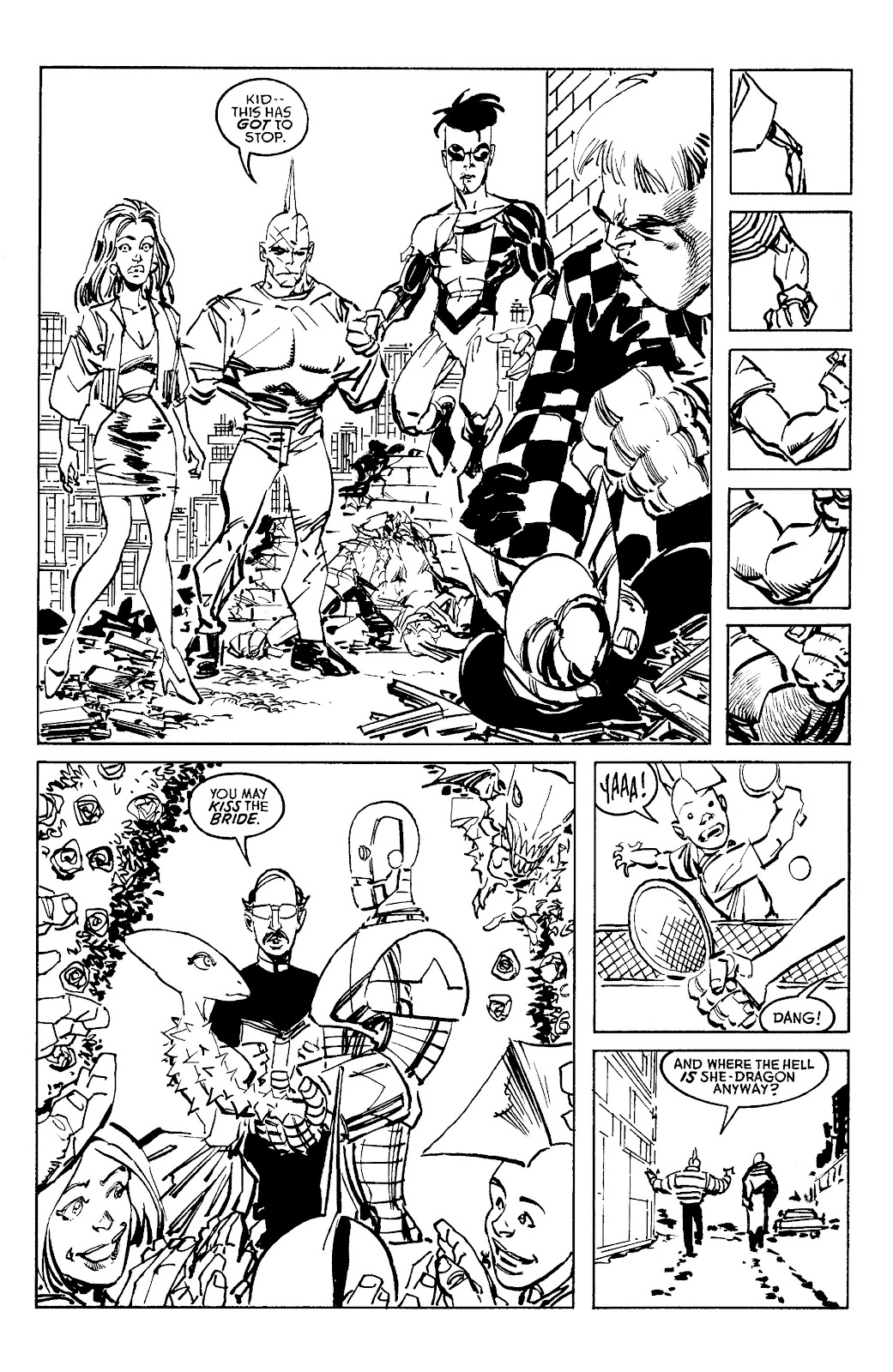 Read online Savage Dragon Archives comic -  Issue # TPB 6 (Part 4) - 70
