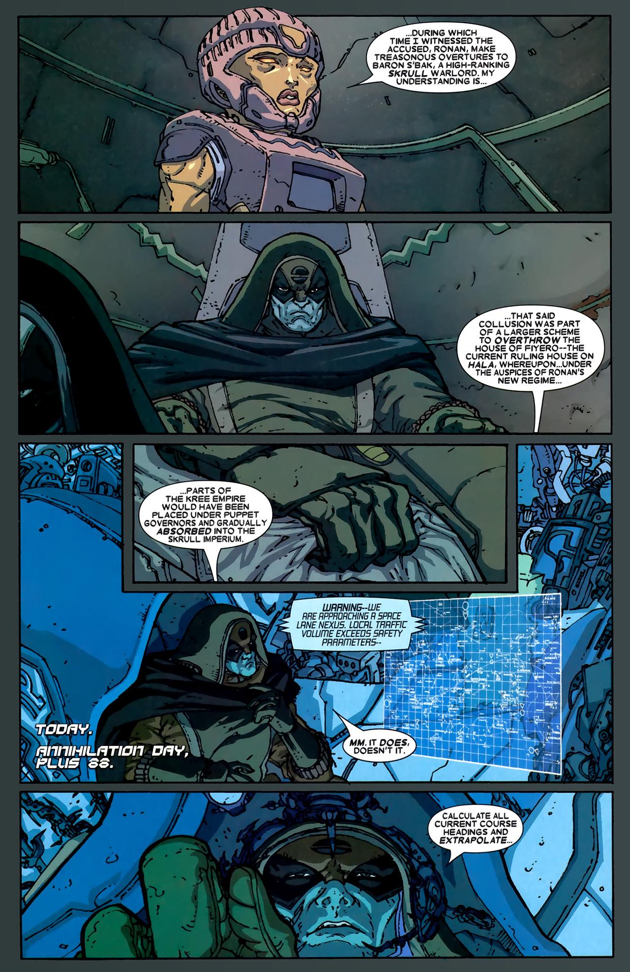 Read online Annihilation: Ronan comic -  Issue #1 - 17