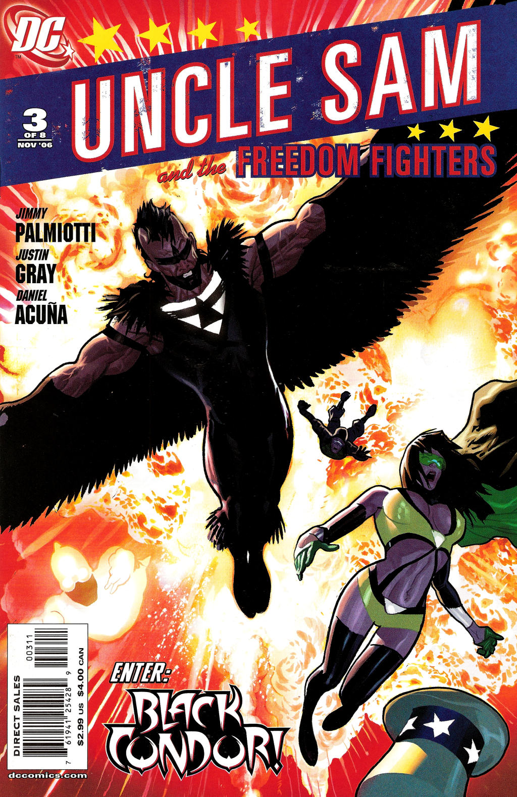 Read online Uncle Sam and the Freedom Fighters (2006) comic -  Issue #3 - 2
