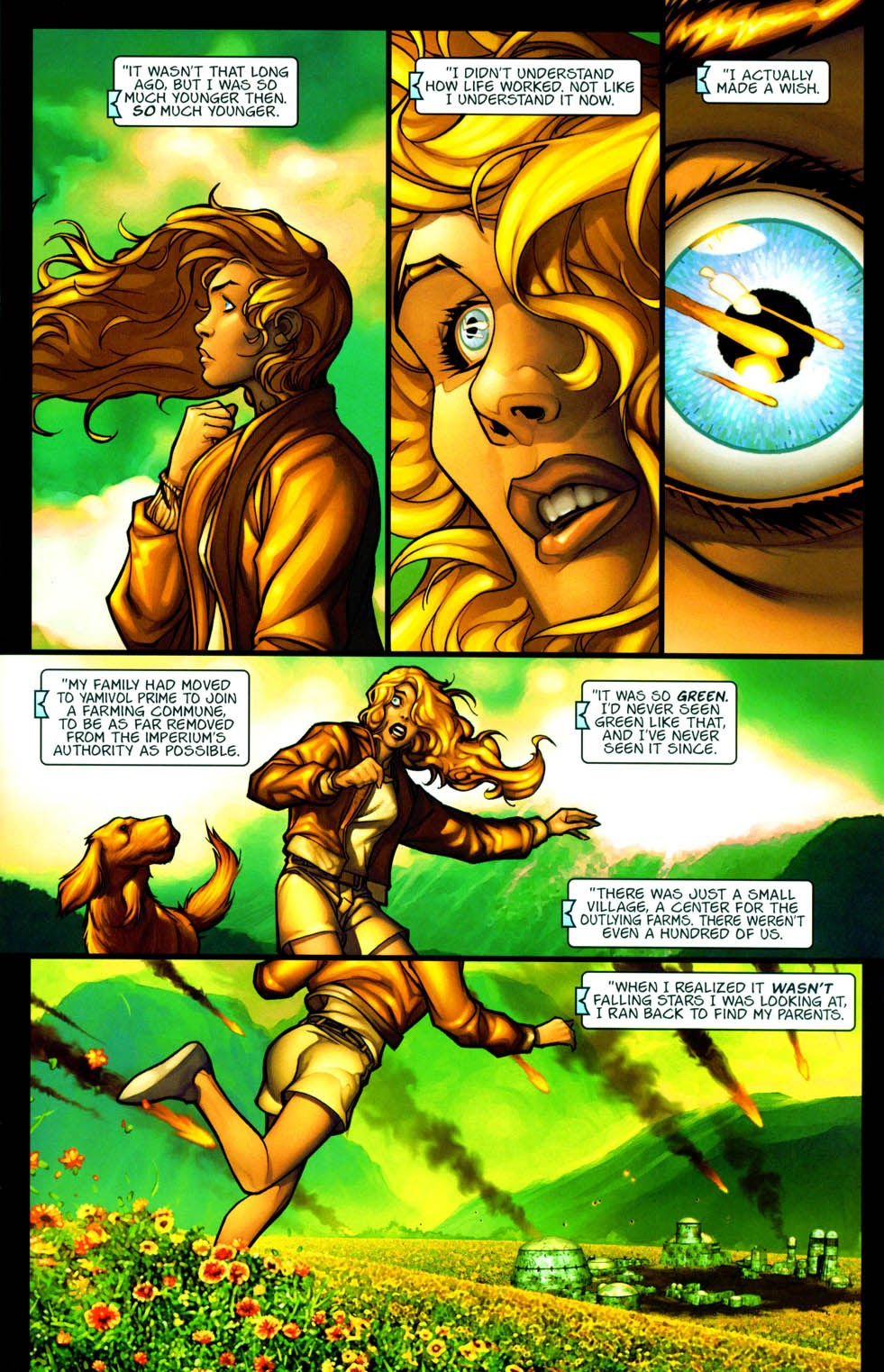 Read online Chimera comic -  Issue #3 - 5