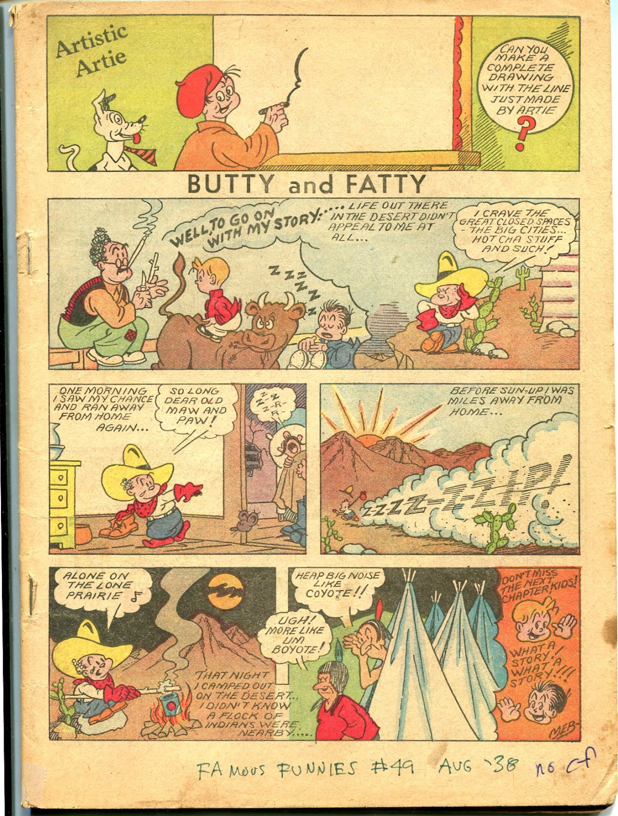 Read online Famous Funnies comic -  Issue #49 - 5