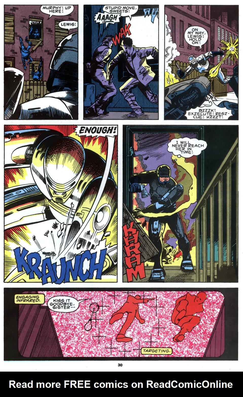 Read online Robocop (1990) comic -  Issue #2 - 23