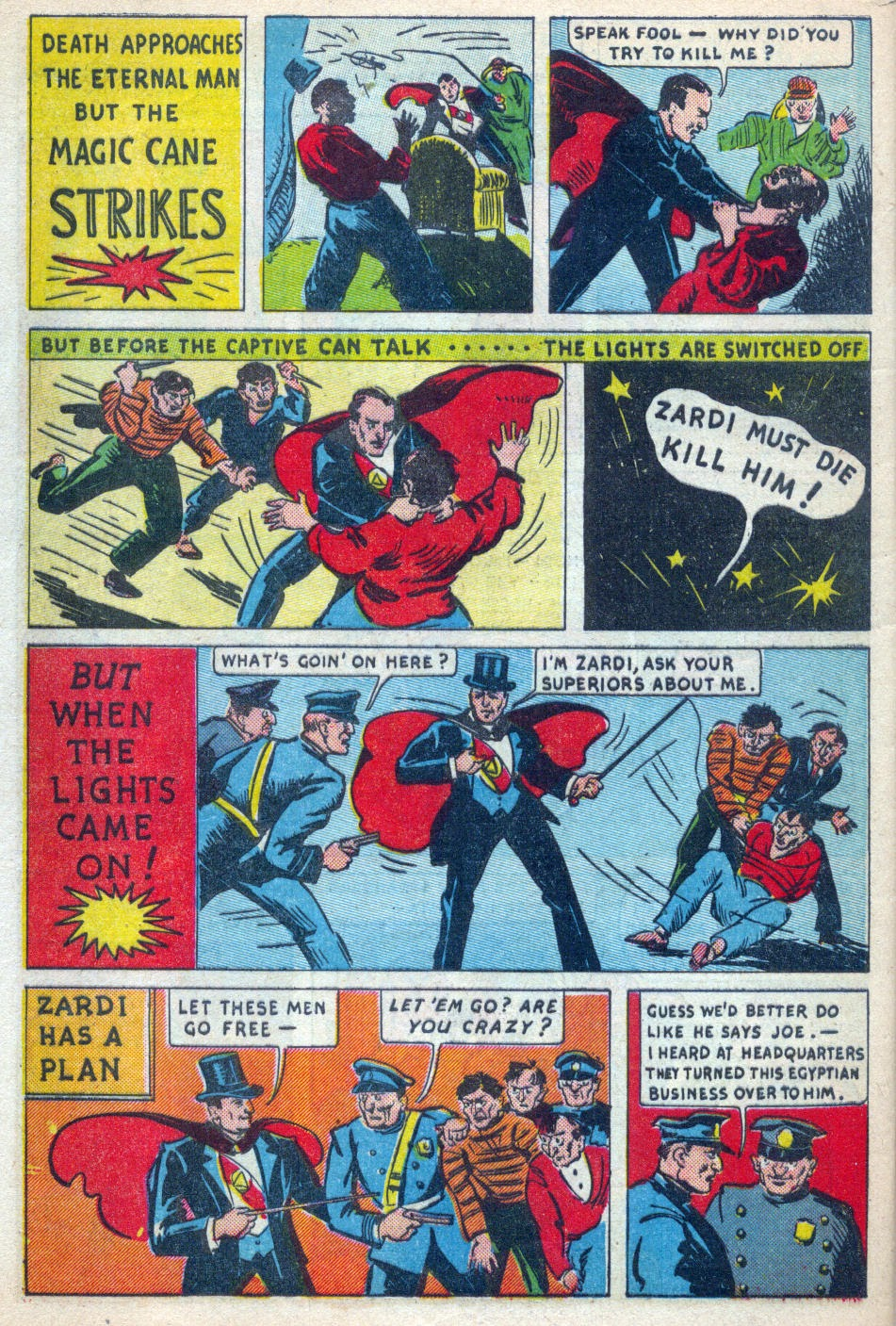 Read online Amazing Man Comics comic -  Issue #15 - 61