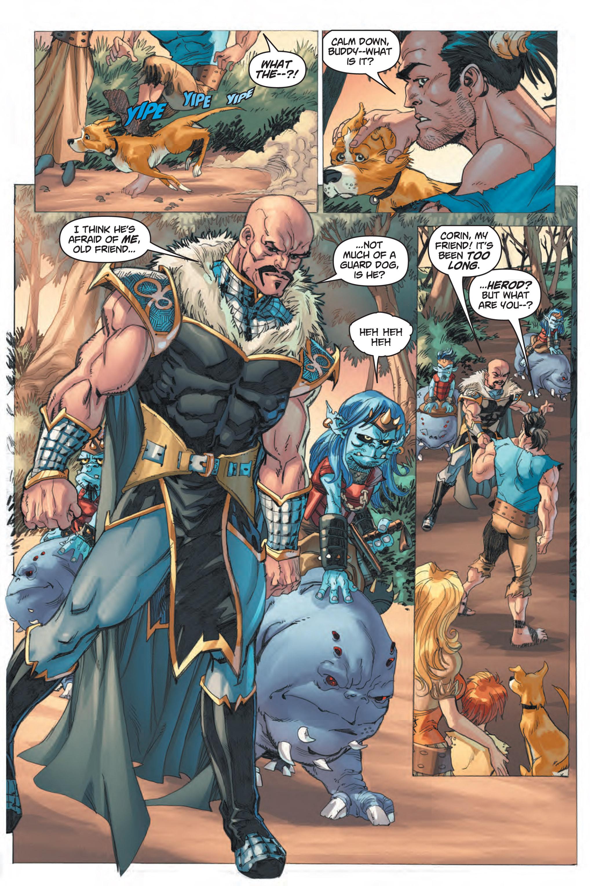 Read online Skyward comic -  Issue #1 - 14