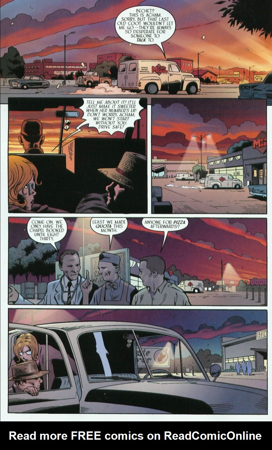 Read online Route 666 comic -  Issue #5 - 14