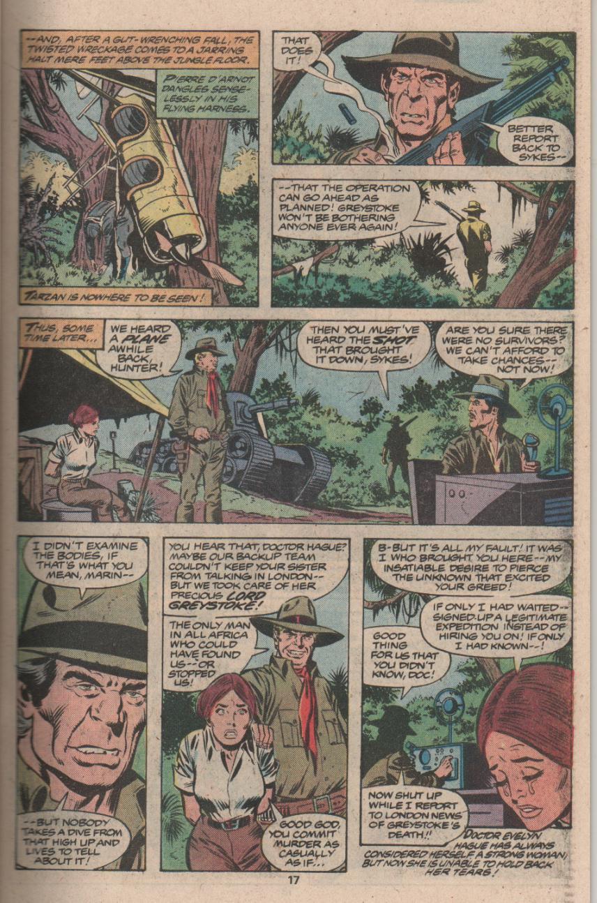 Read online Tarzan (1977) comic -  Issue # _Annual 3 - 14