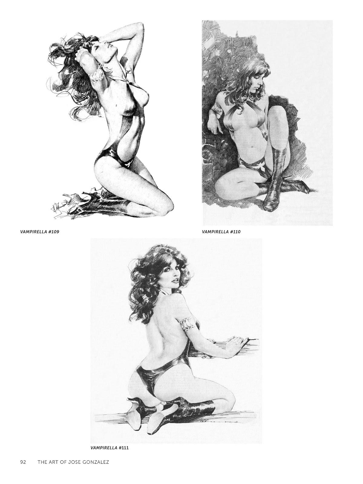 Read online The Art of Jose Gonzalez comic -  Issue # TPB (Part 1) - 93