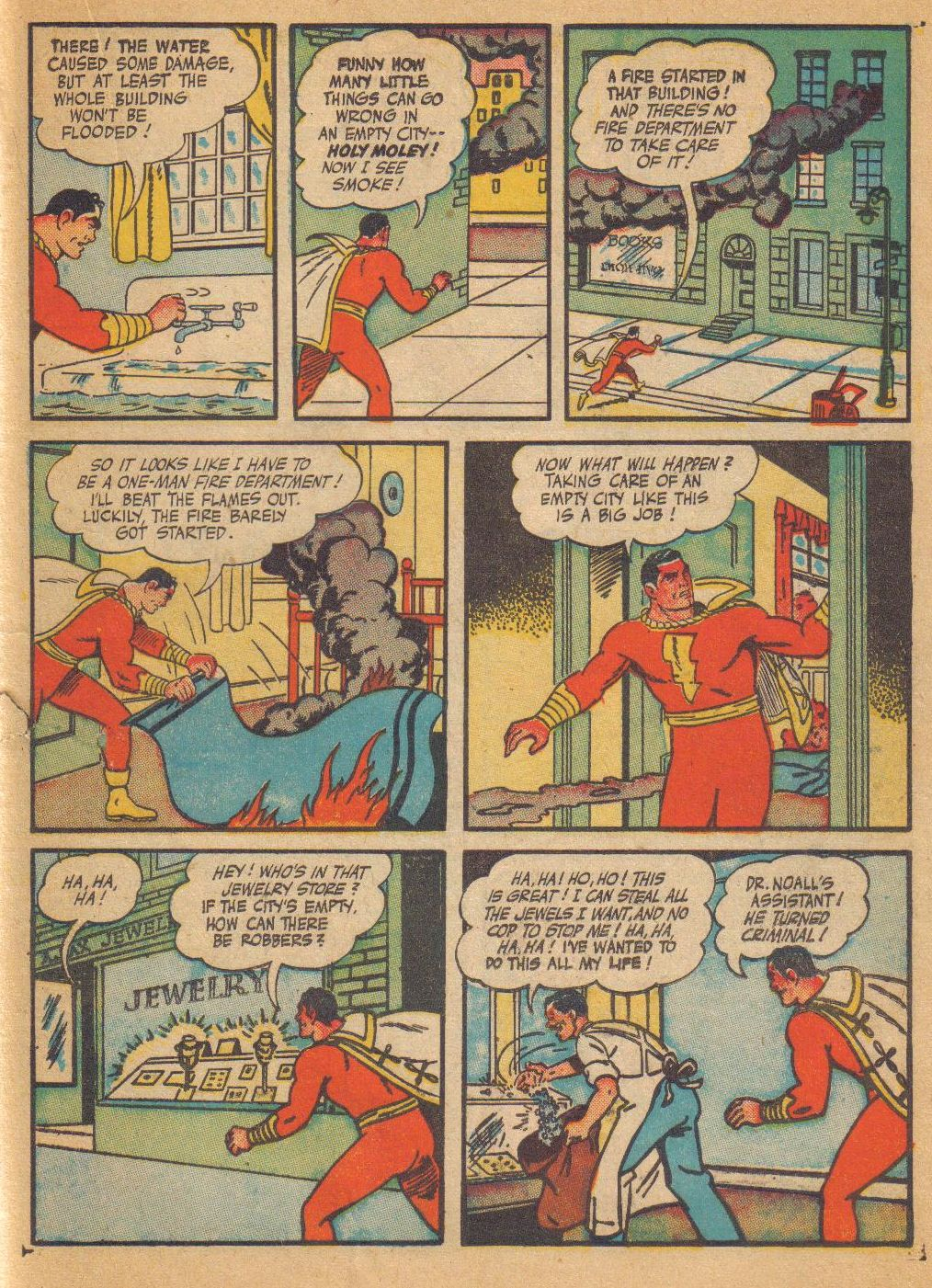 Captain Marvel Adventures issue 64 - Page 35