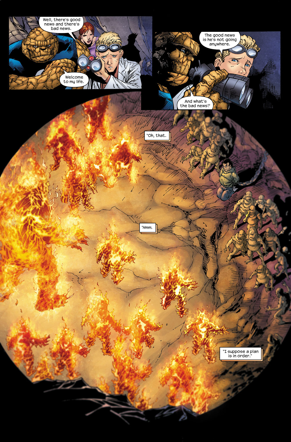 Read online Ultimate Fantastic Four (2004) comic -  Issue #58 - 13