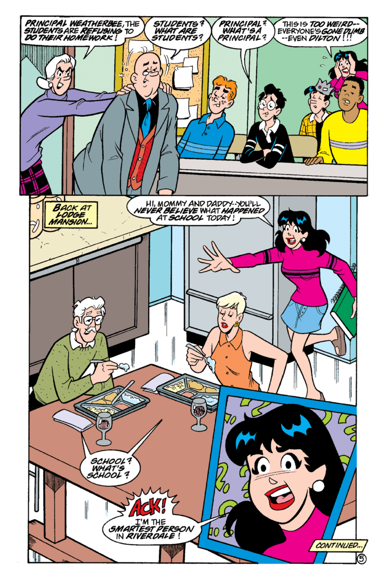 Read online Archie's Weird Mysteries comic -  Issue #18 - 7