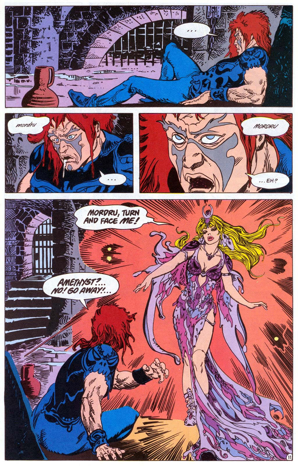 Read online Amethyst (1987) comic -  Issue #4 - 13