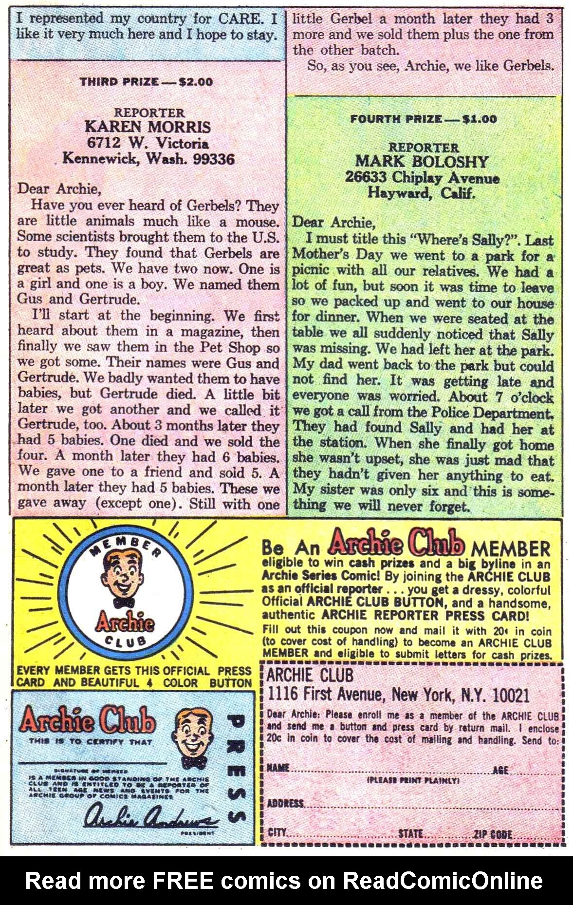 Read online Archie (1960) comic -  Issue #181 - 11