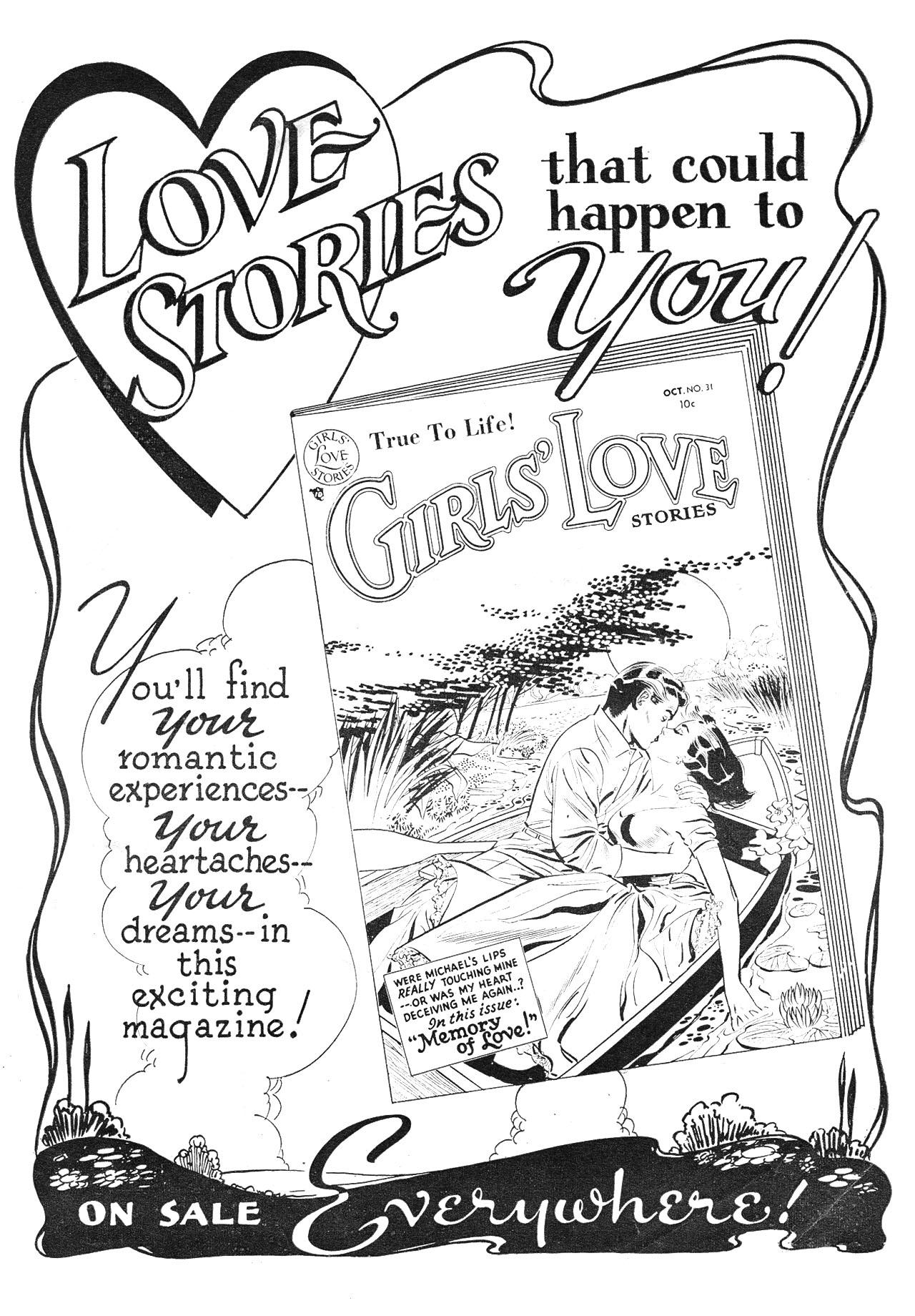 Read online Secret Hearts comic -  Issue #24 - 35