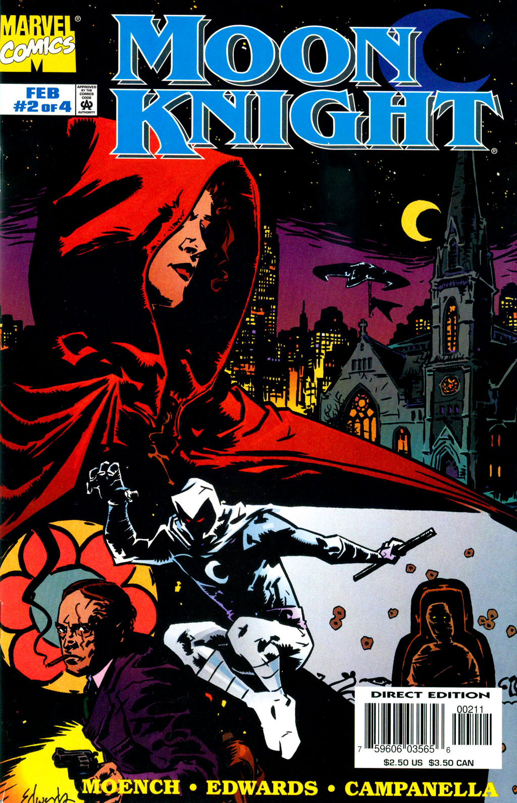 Moon Knight (1998) issue 2 - Page 1