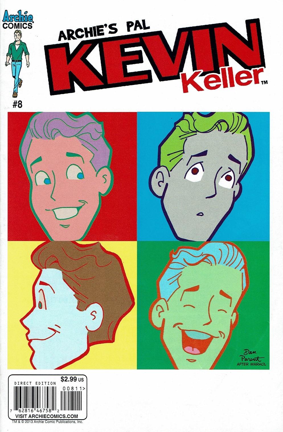 Read online Kevin Keller comic -  Issue #8 - 1