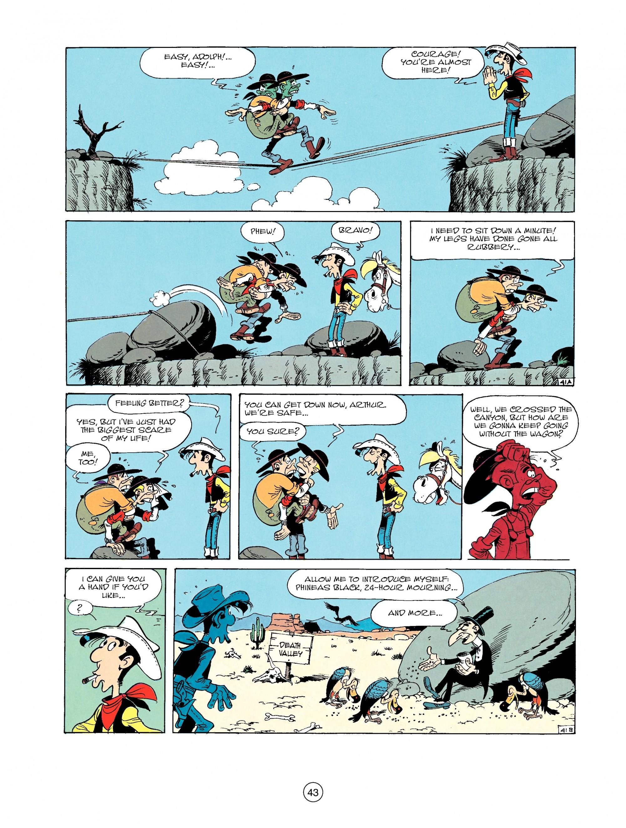 Read online A Lucky Luke Adventure comic -  Issue #33 - 43