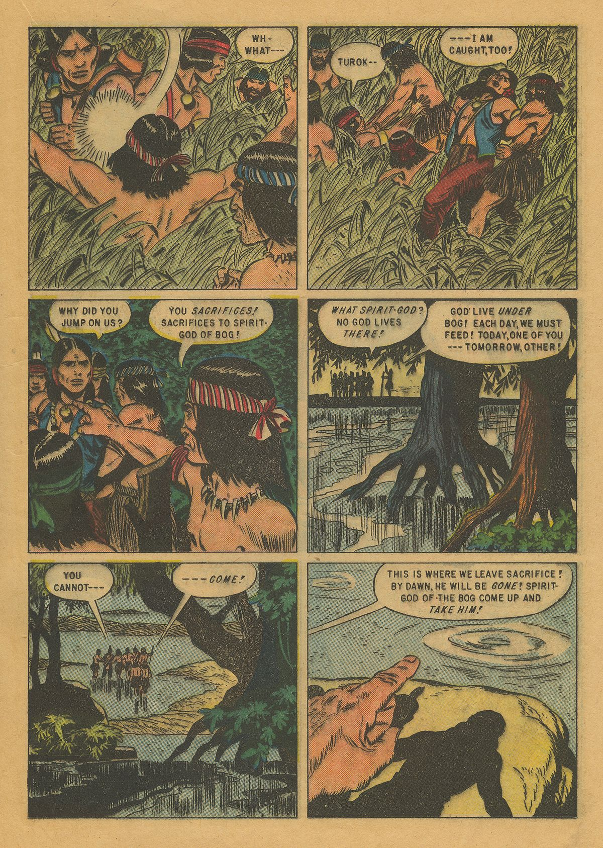 Read online Turok, Son of Stone comic -  Issue #10 - 17