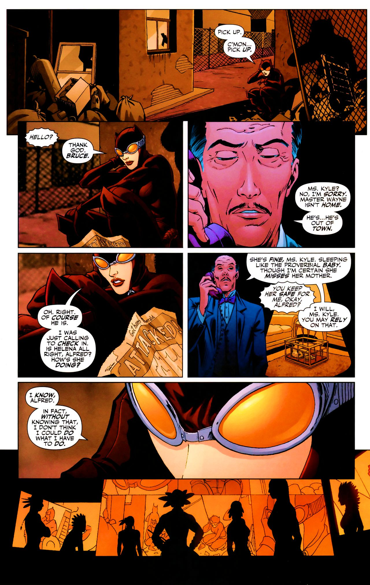 Read online Catwoman (2002) comic -  Issue #69 - 17