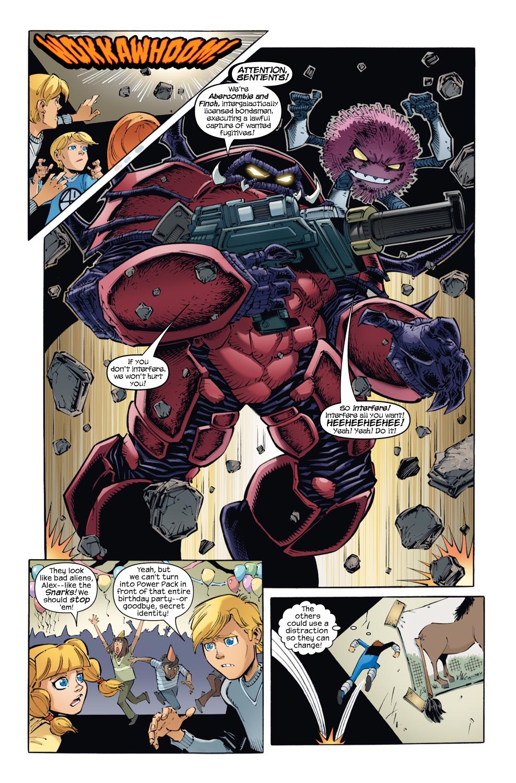Read online Skrulls vs. Power Pack comic -  Issue #1 - 6