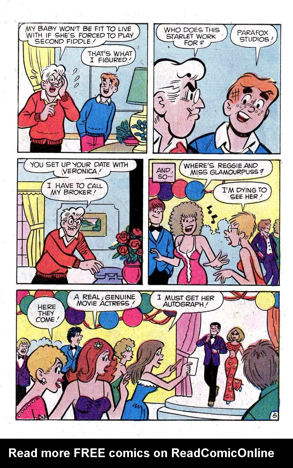 Read online Archie (1960) comic -  Issue #287 - 7