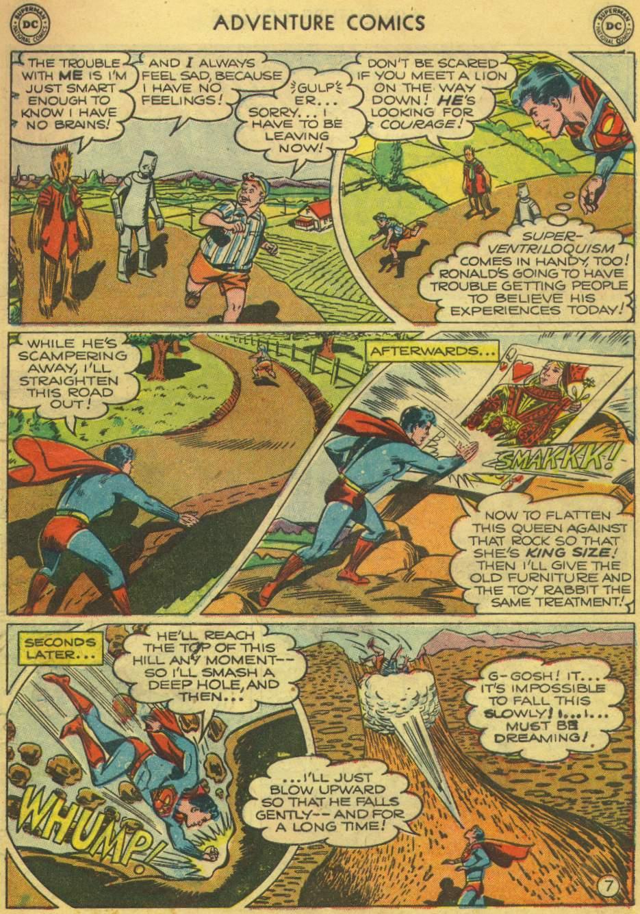 Read online Adventure Comics (1938) comic -  Issue #168 - 9