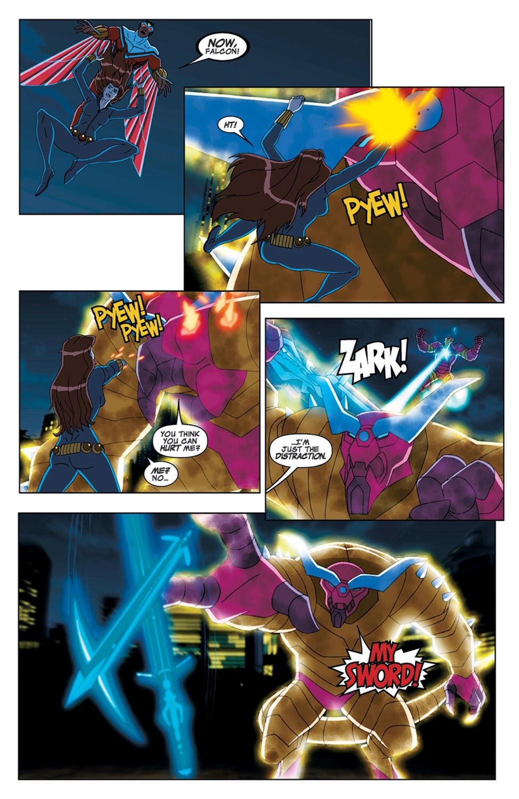Read online Marvel Universe Avengers Assemble Season 2 comic -  Issue #7 - 26