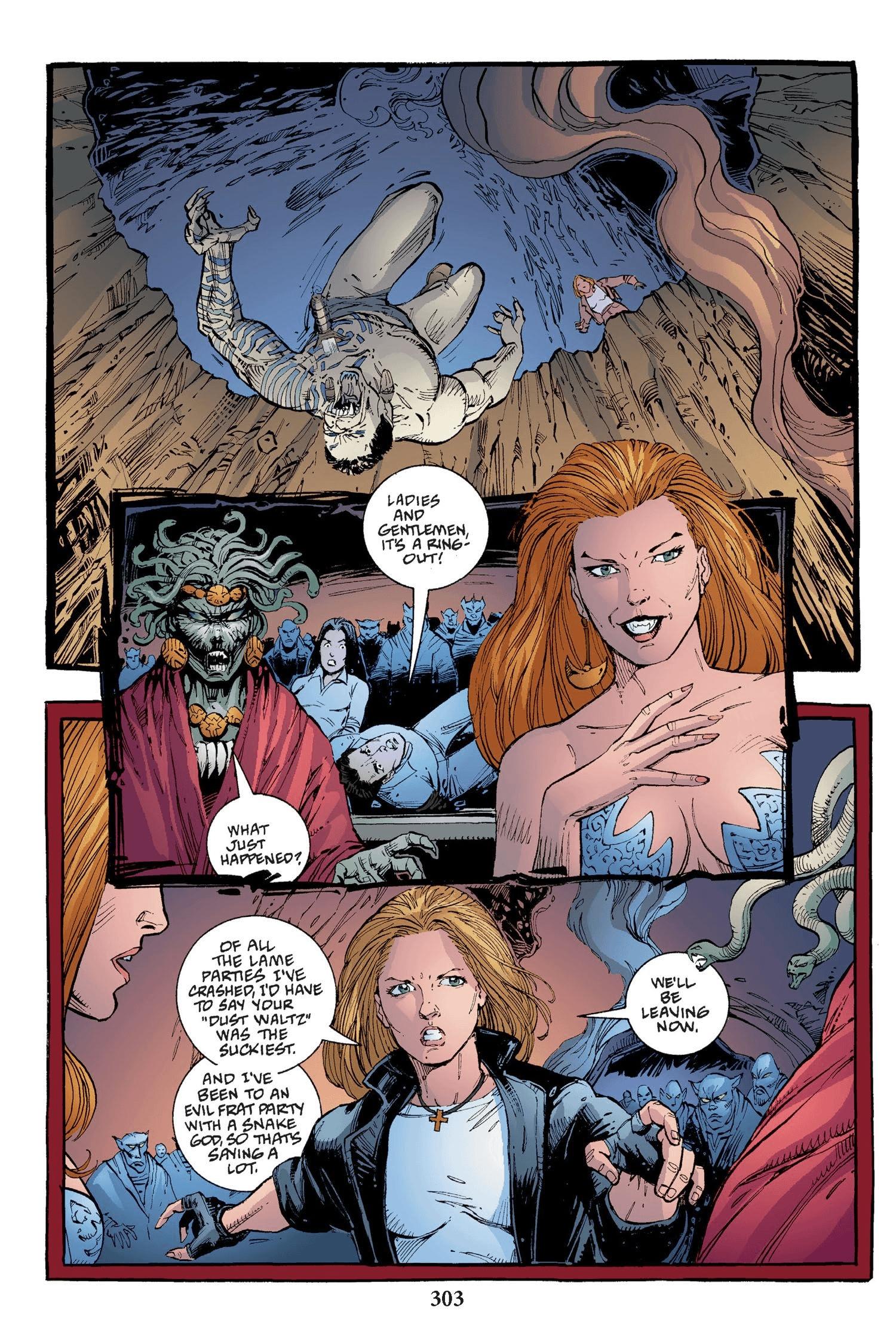 Read online Buffy the Vampire Slayer: Omnibus comic -  Issue # TPB 2 - 295