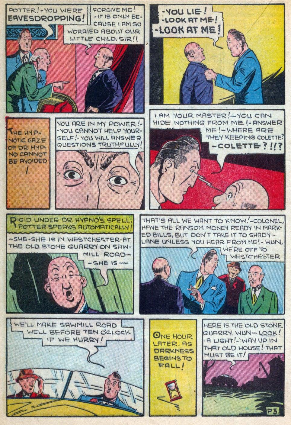 Read online Amazing Man Comics comic -  Issue #15 - 29