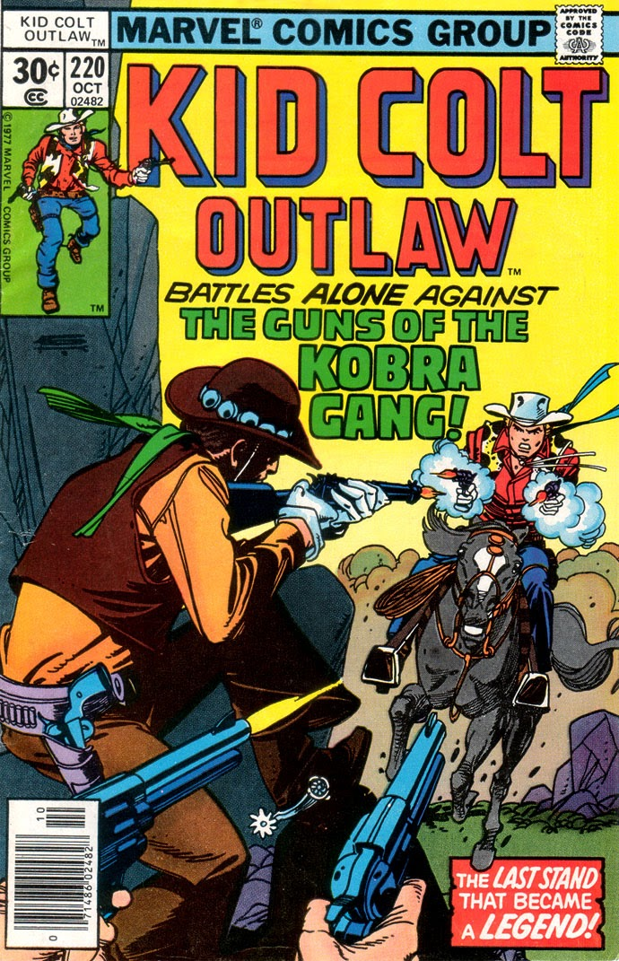 Kid Colt Outlaw issue 220 - Page 1
