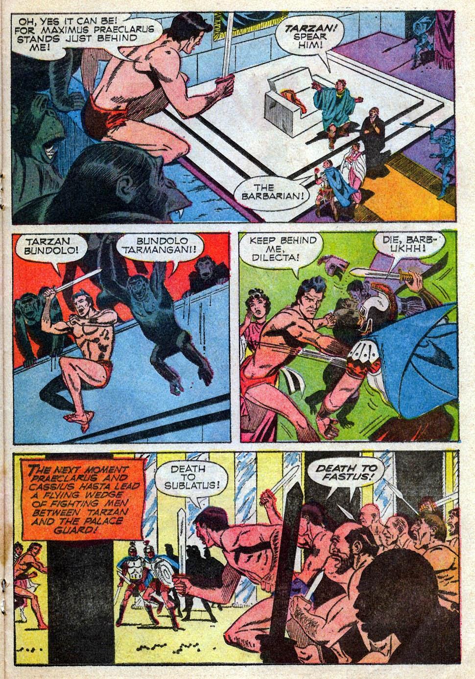 Tarzan (1962) issue 195 - Page 21