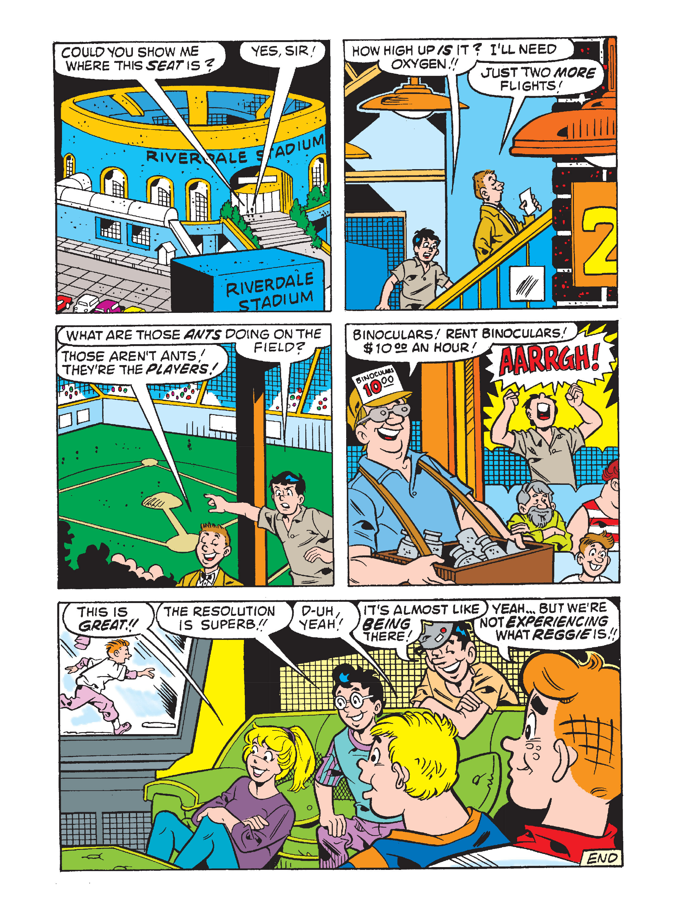 Read online Archie's Funhouse Double Digest comic -  Issue #8 - 88