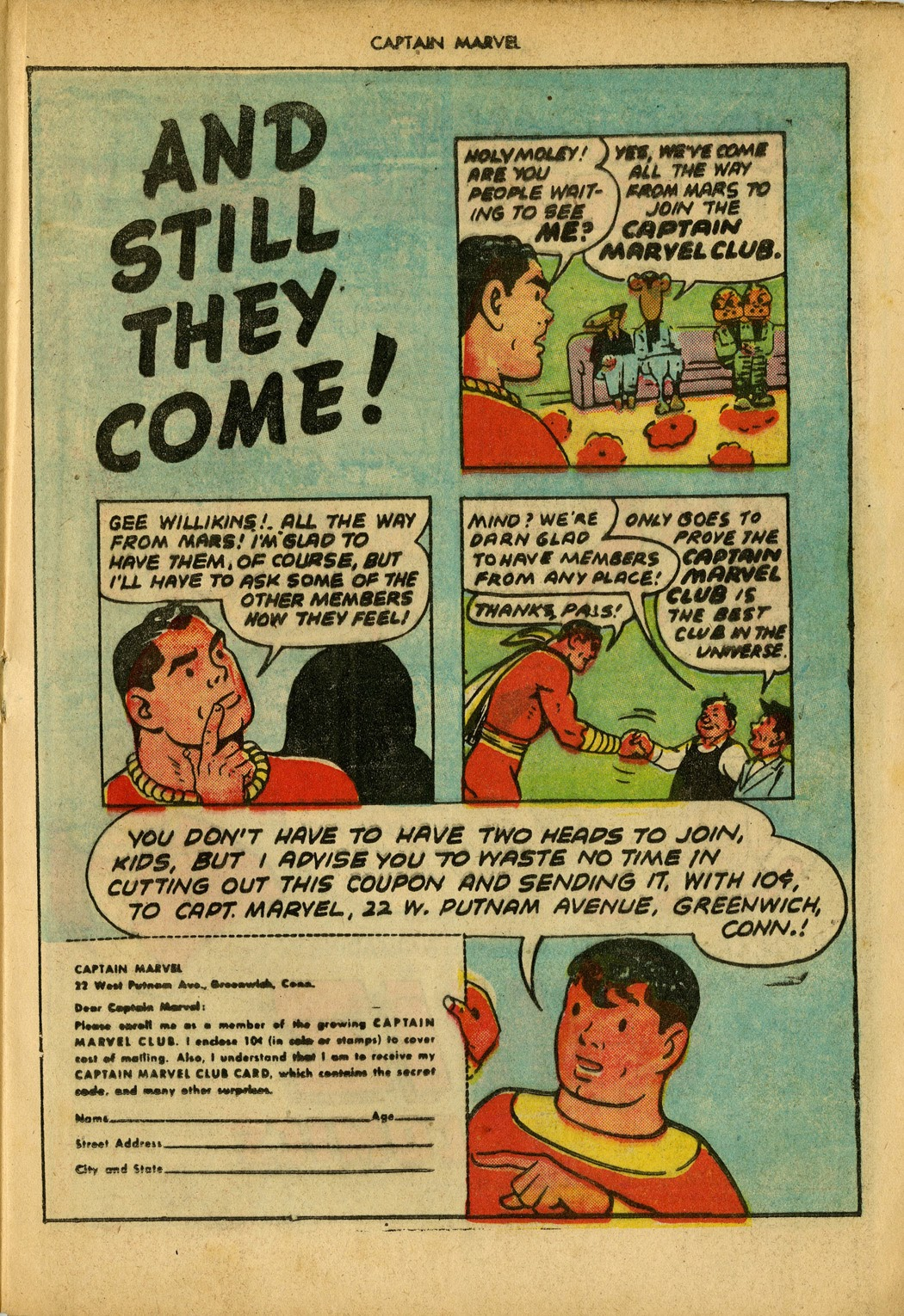 Captain Marvel Adventures issue 34 - Page 33